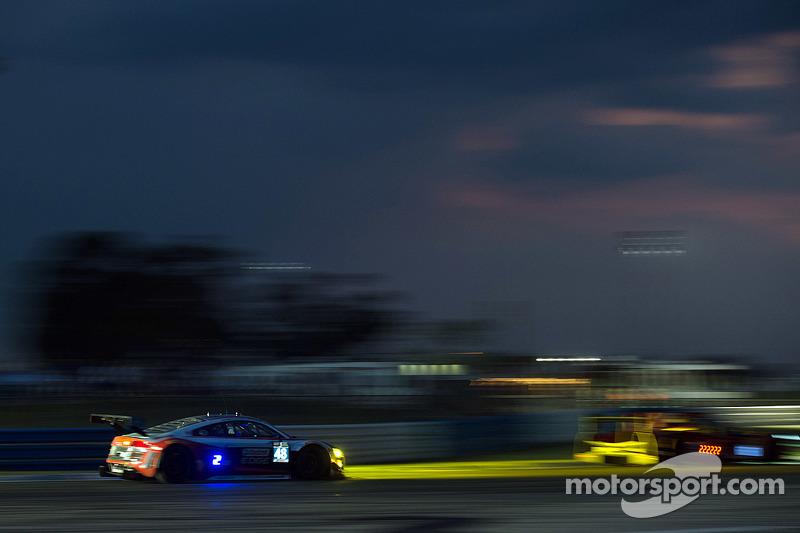 #48 Paul Miller Racing Audi R8 LMS: Christopher Haase, Bryce Miller, Dion von Moltke