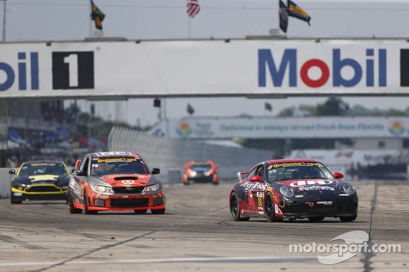 #08 Rebel Rock Racing, Porsche 997: Andy Lally, Dylan Murcott