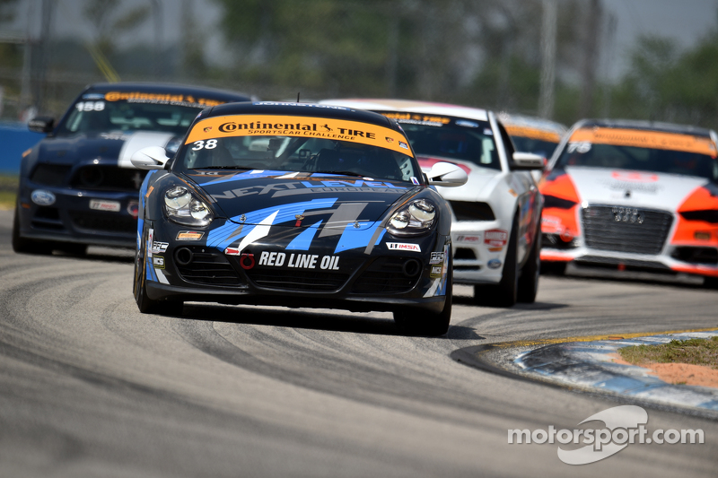 #38 Next Level European, Porsche Cayman: Dan Rogers, Seth Thomas