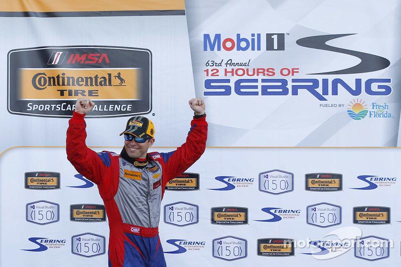 Race winner Andrew Davis, Stevenson Motorsports