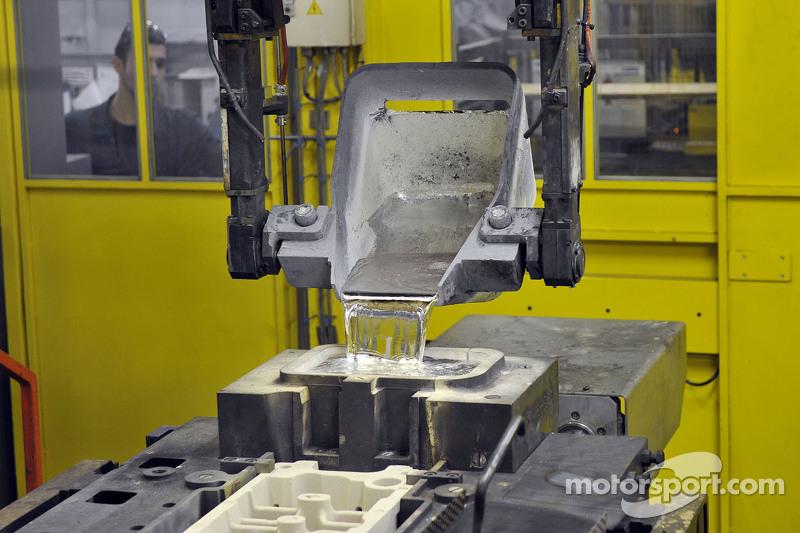 Ferrari production process