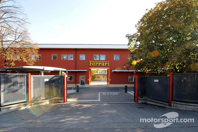 Ferrari entrance