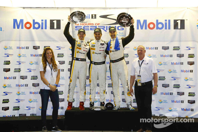1. #5 Action Express Racing, Corvette DP: Joao Barbosa, Sébastien Bourdais, Christian Fittipaldi