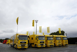 Camiones de neumáticos Dunlop