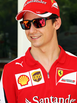 Эстебан Гутьеррес, тестовый и резервный пилот Ferrari