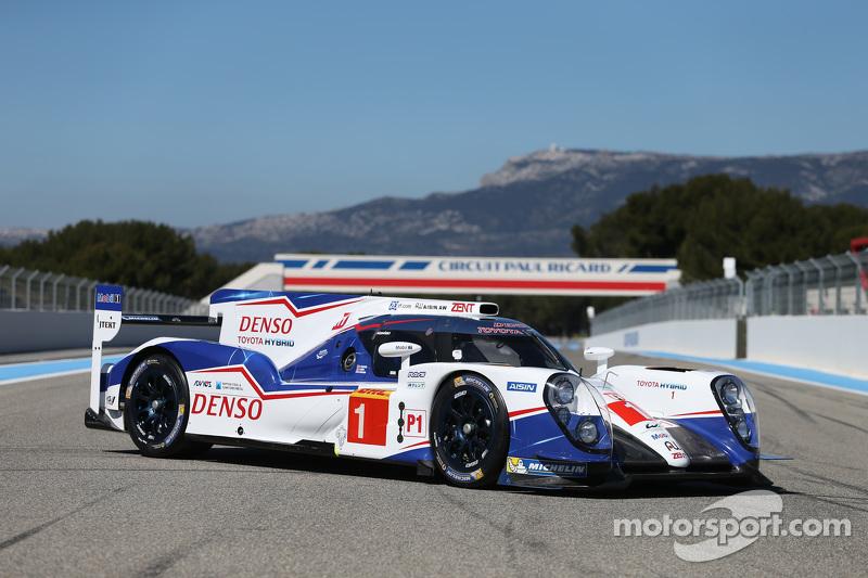 #1 Toyota Racing Toyota TS040