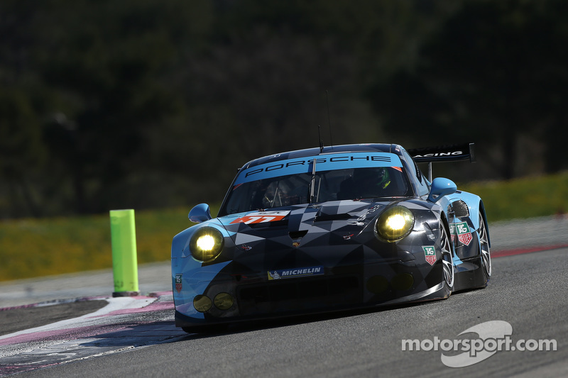 #77 Dempsey Racing Proton Competition,保时捷911 RSR: Patrick Long, Marco Seefried