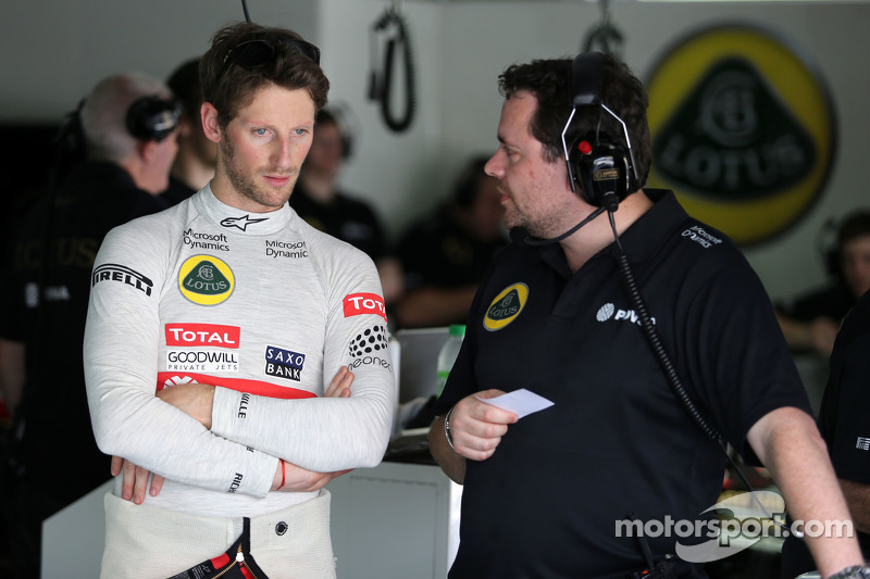 Julien Simon-Chautemps, Lotus F1 Team Ingeniero de carrera