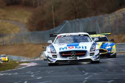 #13 Zakspeed Mercedes-Benz SLS AMG GT3: Luca Ludwig, Sebastian Asch, Tom Coronel