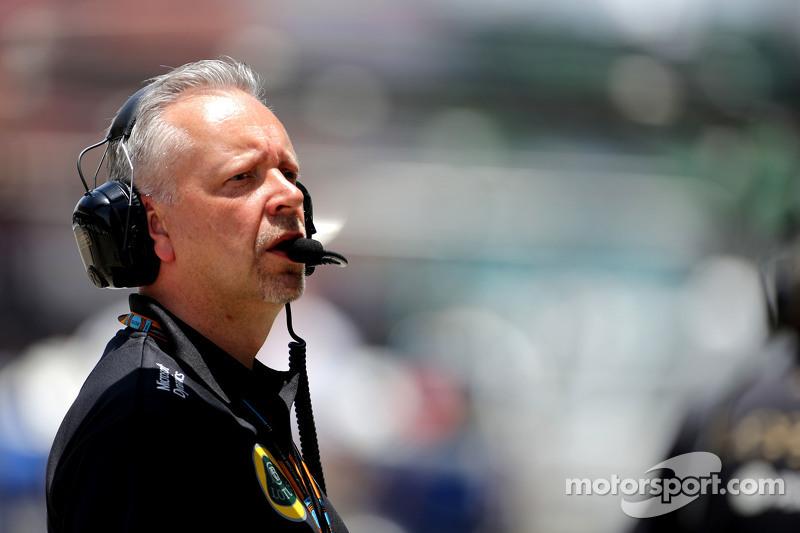 Пол Сібі, Lotus F1 Team, менеджер команди