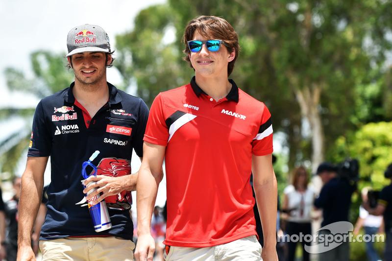Карлос Сайнс мол., Scuderia Toro Rosso з Роберто Мері, Marussia F1 Team
