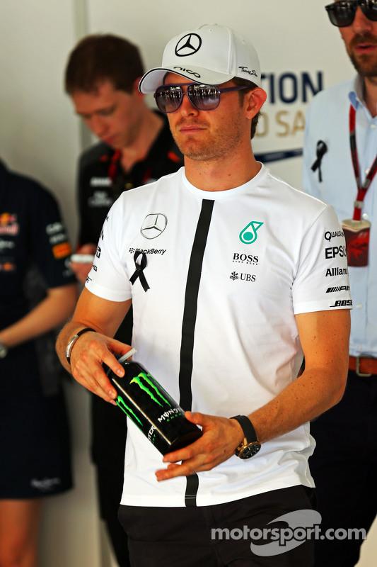 尼克·罗斯伯格, 梅赛德斯AMG车队,在车手巡游上