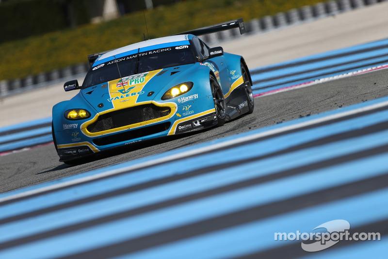 #99 Aston Martin Racing Vantage V8: Fernando Rees