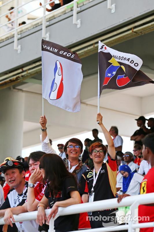 Seguidores del Lotus F1
