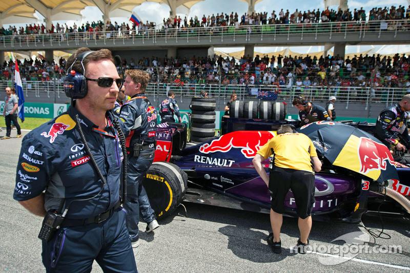 Крістіан Хорнер, Red Bull Racing Керівник командина стартовій решітці