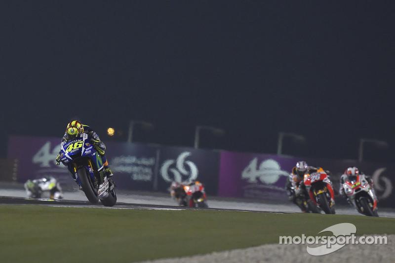 Valentino Rossi, Yamaha Factory Racing dan Dani Pedrosa, Repsol Honda Team dan Yonny Herndanez, Pram