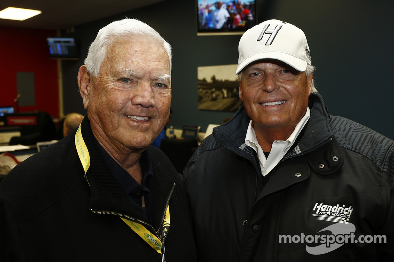 NASCAR Hall of Fam: Junior Johnson mit Teambesitzer Rick Hendrick