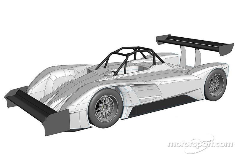 Drive eO PP03 electric vehicle that will compete di Pikes Peak