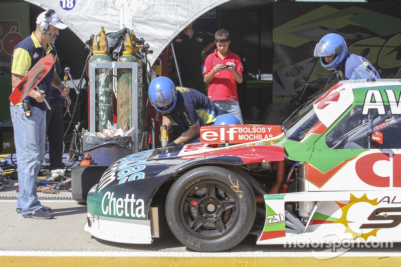 Carlos Okulovich, Maquin Parts Racing Torino Tyre change testings