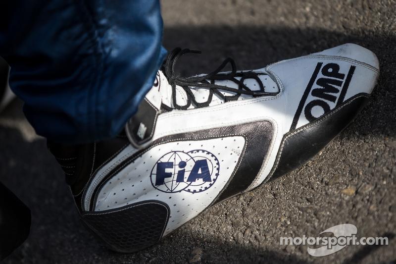 FIA racing shoes