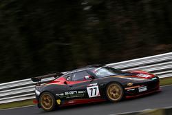 #77 Issy Racing, Lotus Evora GT4: Oz Yusuf, Gavan Kershaw