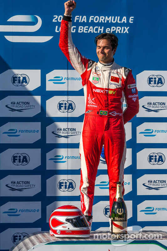 Ganador de la carrera de Nelson Piquet Jr.