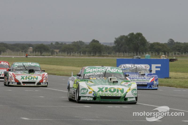 Emiliano Spataro, UR Racing, Dodge; Matias Rodriguez, UR Racing, Dodge, und Norberto Fontana, Laboritto Jrs, Torino