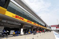 Sauber F1 Team, Boxen