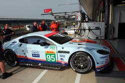 #95 Aston Martin Racing Aston Martin Vantage V8 :  Christoffer Nygaard, Marco Sorensen, Nicki Thiim
