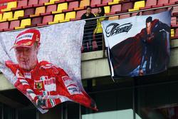 Баннер с Кими Райкконеном, Ferrari
