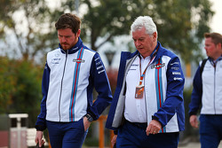 Rob Smedley, Williams Head of Vehicle Performance, met Pat Symonds, Williams Chief Technical Officer