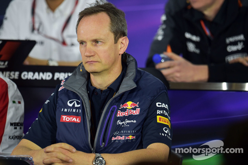 Paul Monaghan, Red Bull Racing Chief Engineer in the FIA Press Conference
