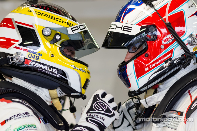 Richard Lietz and Michael Christensen, Porsche Team