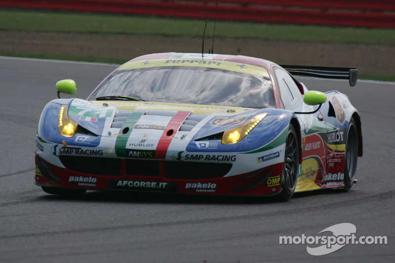 #71 AF Corse 法拉利458 Italia: Davide Rigon, James Calado