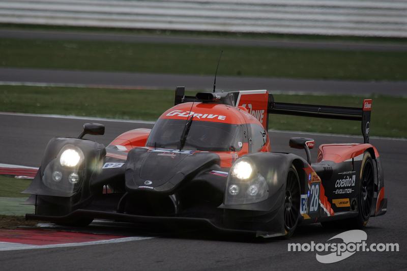 #28 G-Drive Racing, Ligier JS P2 - Nissan: Gustavo Yacaman, Luis Felipe Derani, Ricardo Gonzalez