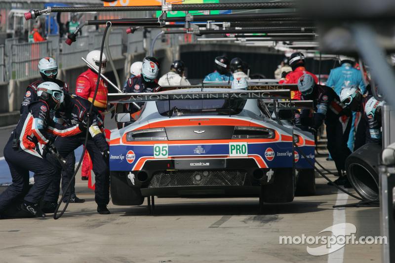 #95 Aston Martin Racing Aston Martin Vantage V8:  Christoffer Nygaard, Marco Sorensen, Nicki Thiim