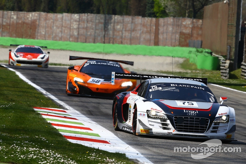 #75 ISR, Audi R8 LMS Ultra: Filip Salaquarda, Marco Bonanomi, Frederic Vervisch
