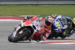Андреа Довициозо, Ducati Team и Валентино Росси, Yamaha Factory Racing
