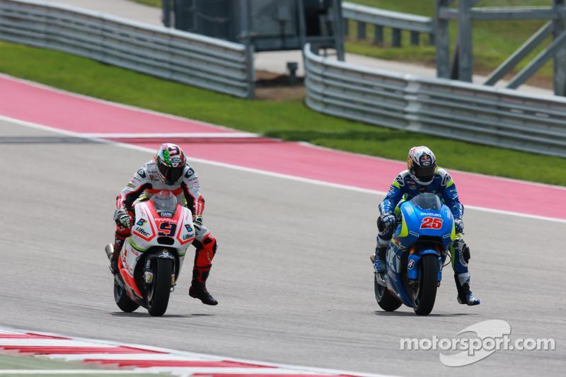 Маверік Віньялес, Team Suzuki MotoGP та Данило Петруччі, Pramac Racing