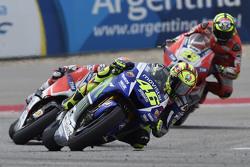 Валентино Росси, Yamaha Factory Racing и Андреа Довициозо и Андреа Янноне, Ducati Team