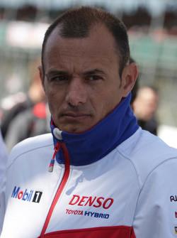 Stéphane Sarrazin, Toyota Racing