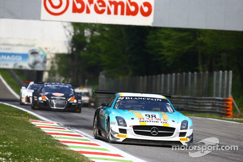 #98 Team Astana by Rowe Mervedes SLS AMG GT3: Nicolai Sylvest, Indy Dontje, Daniel Juncadella