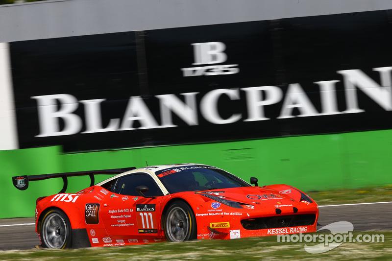 #111 Kessel Racing Ferrari 458 Italia: Stephen Earle, Marco Zanuttini, Liam Talbot