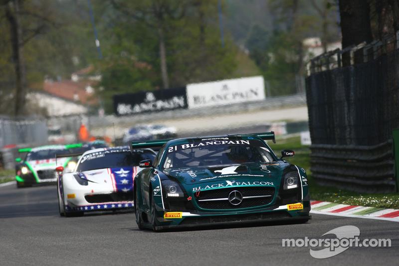 #21 Black Falcon Mercedes SLS AMG GT3: Hupert Haupt, Abdulaziz Al Faisal