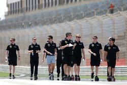 Jolyon Palmer, Lotus F1 Team and Lotus F1 Team engineers