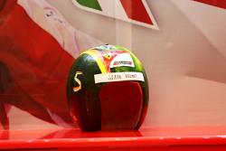'yedek' kask Sebastian Vettel, Ferrari