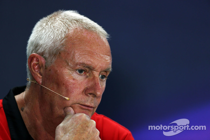 John Booth, Manor F1 Team Team Principal in the FIA Press Conference