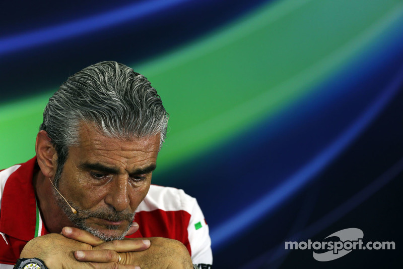 Maurizio Arrivabene, Ferrari Team Principal di FIA Press Conference
