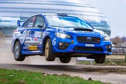Алексей Лукьянюк. Rally Masters Show 2015, Москва