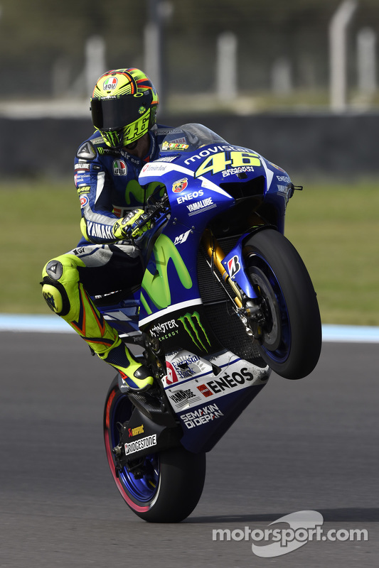 Valentino Rossi, Yamaha Factory Racing - GP d'Argentine ...